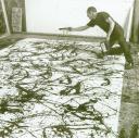 "Jackson Pollock, painting ""No. 27,""1950"