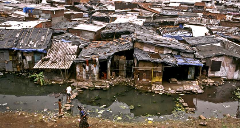 slum di mumbai