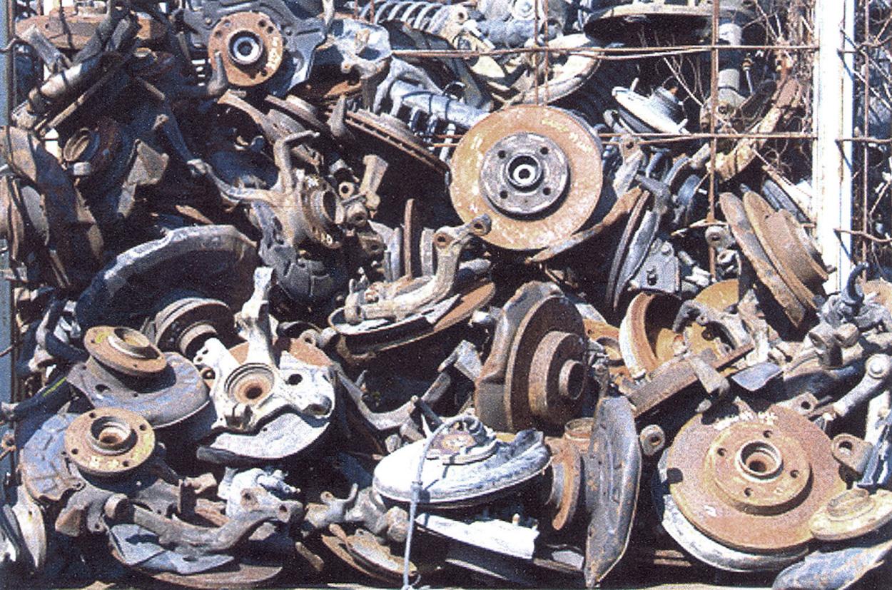 Scrap Old Car