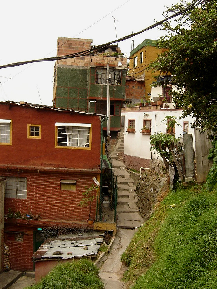 Slums the barrios of bogota lebbeus woods for Barrio ciudad jardin bogota